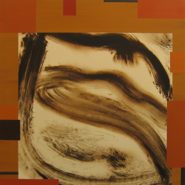 'Catcher' John King 2008, Acrylic on canvas 39x38in. 99x97cm. #1221