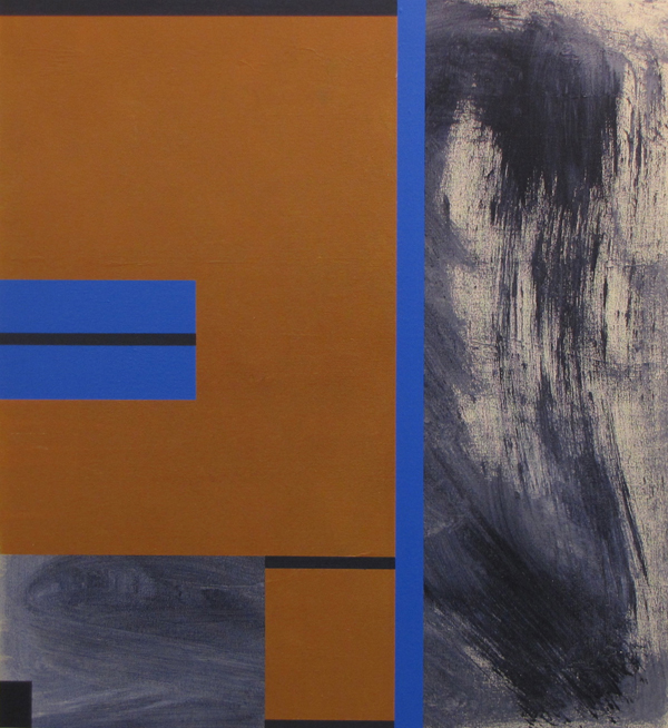 Tsunami John King 2012, Acrylic on canvas 31x38in. #1295