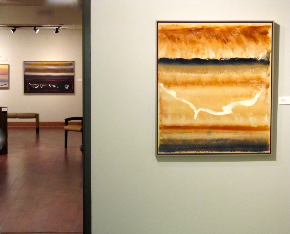 Paintings by John King, Calligraphic Influences, Buhler Gallery, Feb 6-May 25, 2014